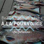 Belle saison de pêche à la pourvoirie
