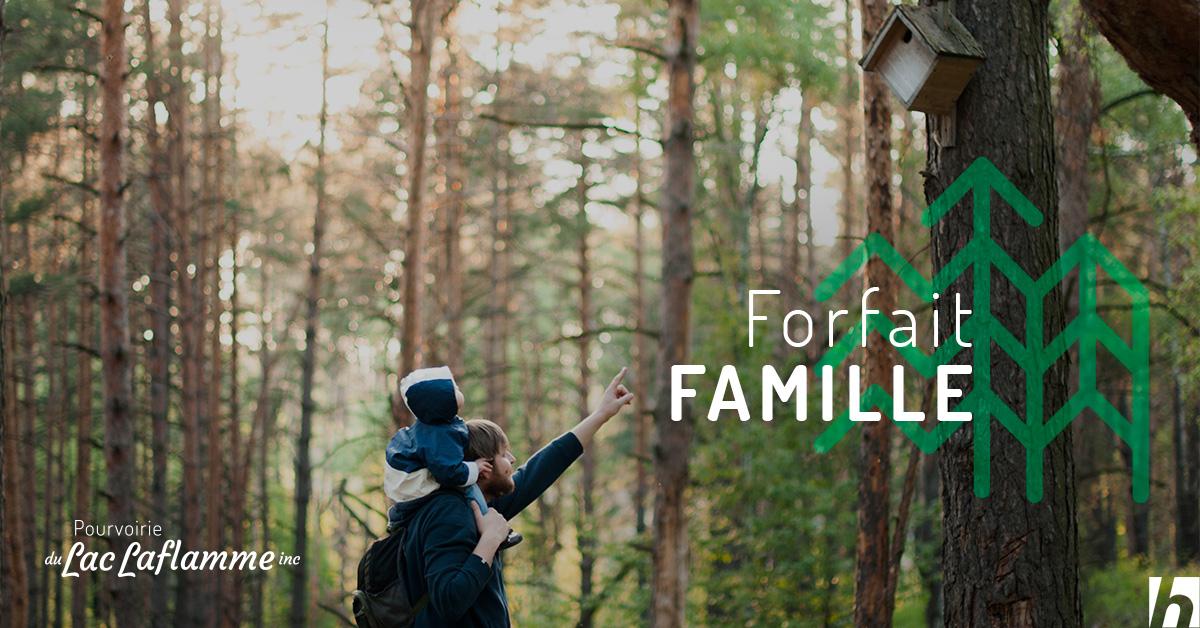 Obtenez notre forfait famille pour 699 $