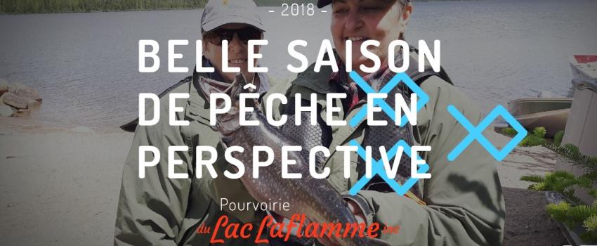 Une belle saison de pêche en perspective pour 2018